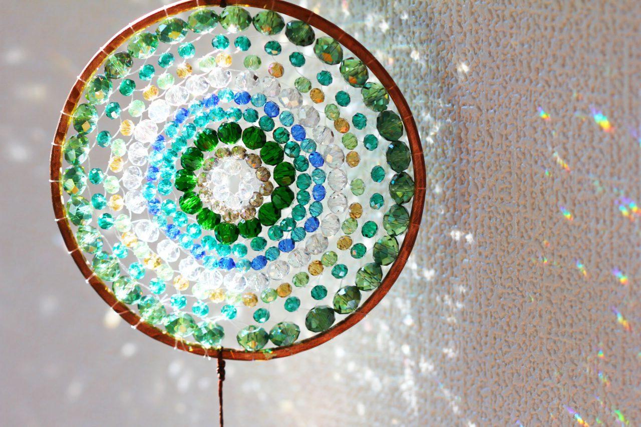 緑の光る曼荼羅